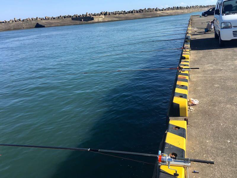 銚子外港の釣り場08