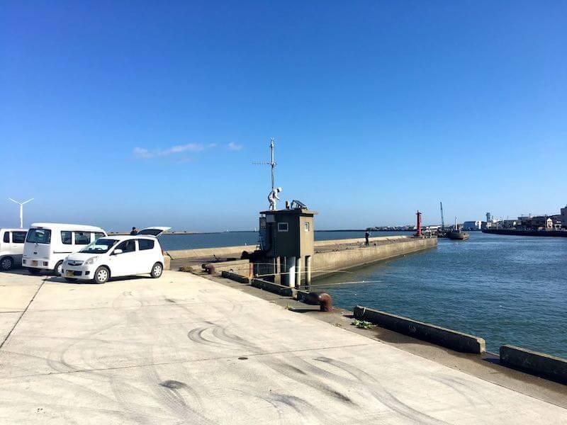 銚子港の釣り場11