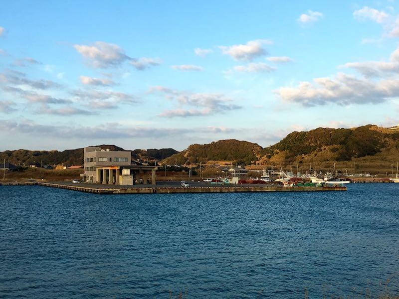 飯岡港の釣り場18