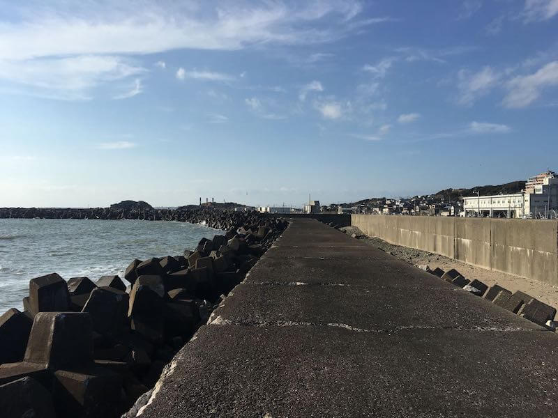 外川港の釣り場12