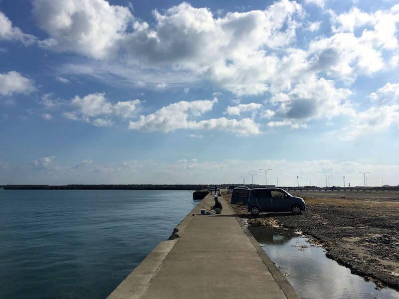 銚子外港の釣り場19