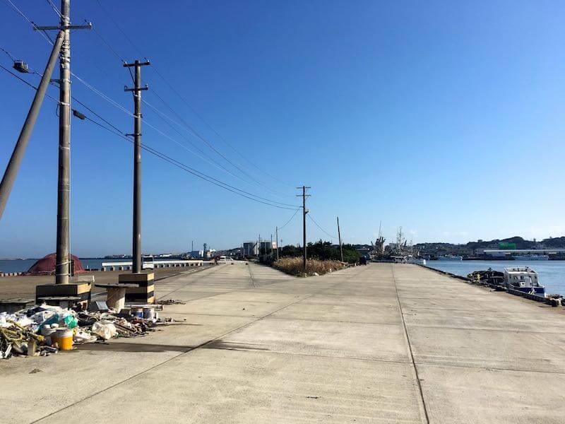 銚子港の釣り場15