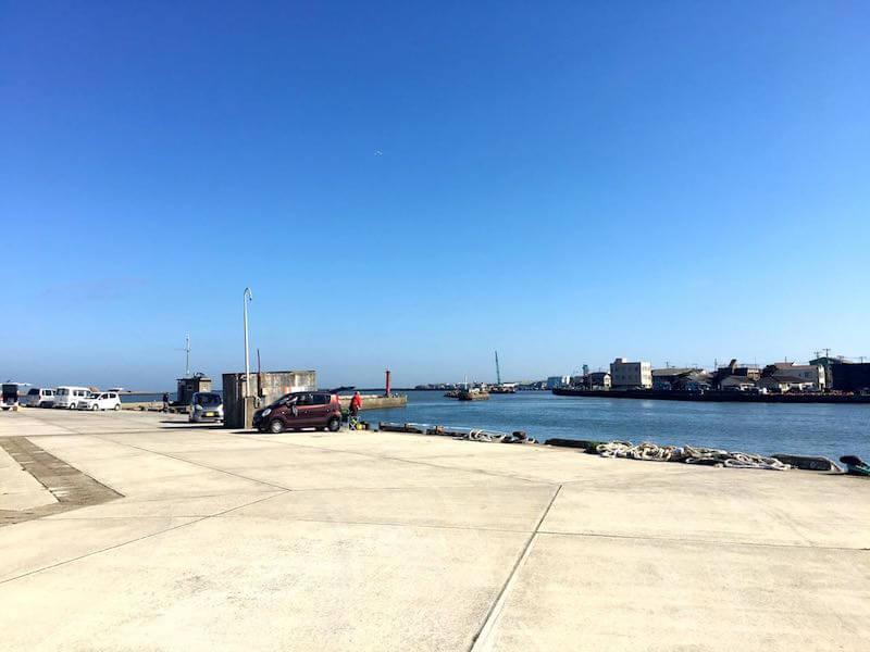 銚子港の釣り場12