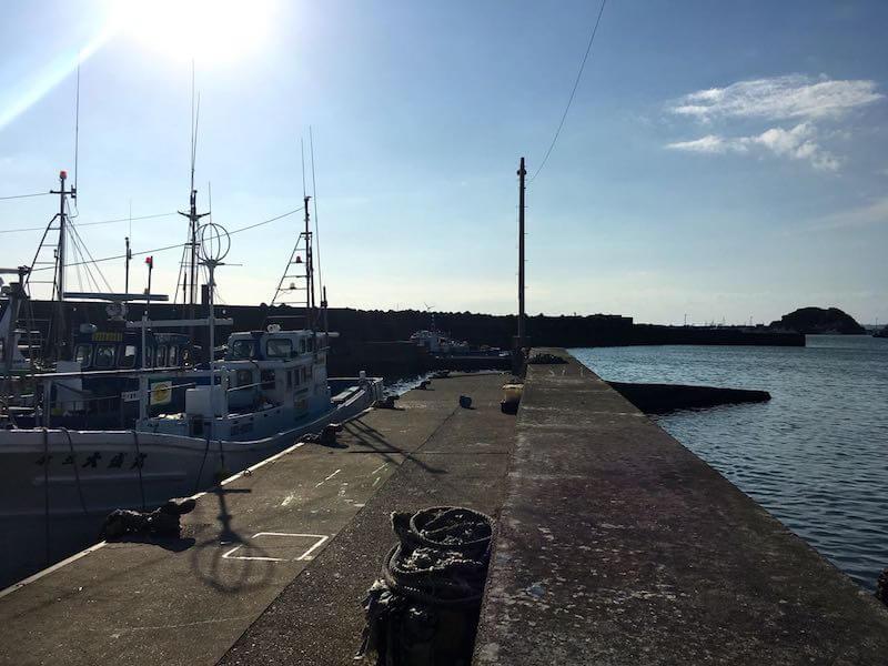 外川港の釣り場07