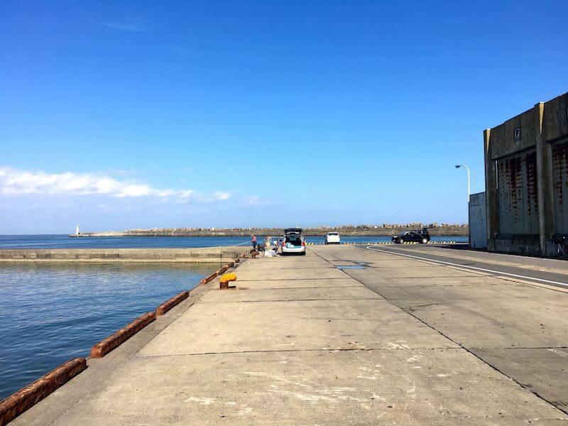 銚子外港の釣り場10
