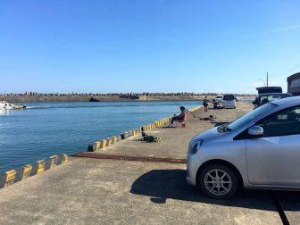 銚子外港の釣り場07