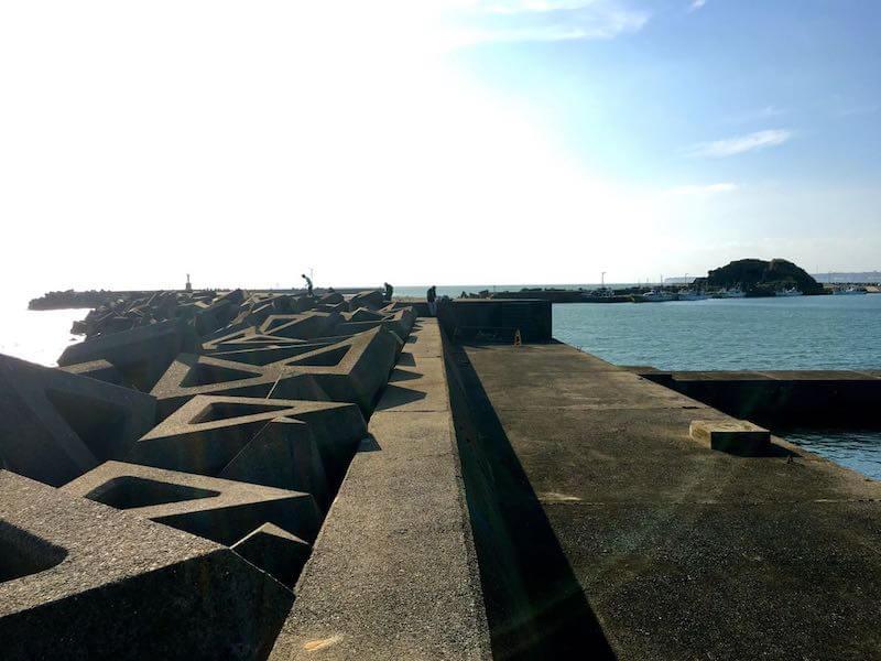 外川港の釣り場17