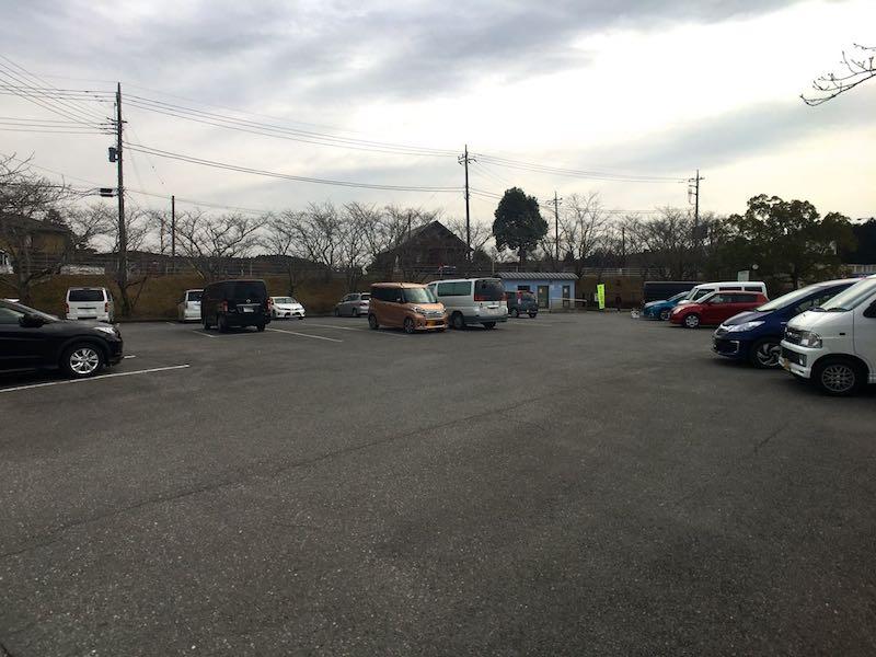 高滝湖第一駐車場