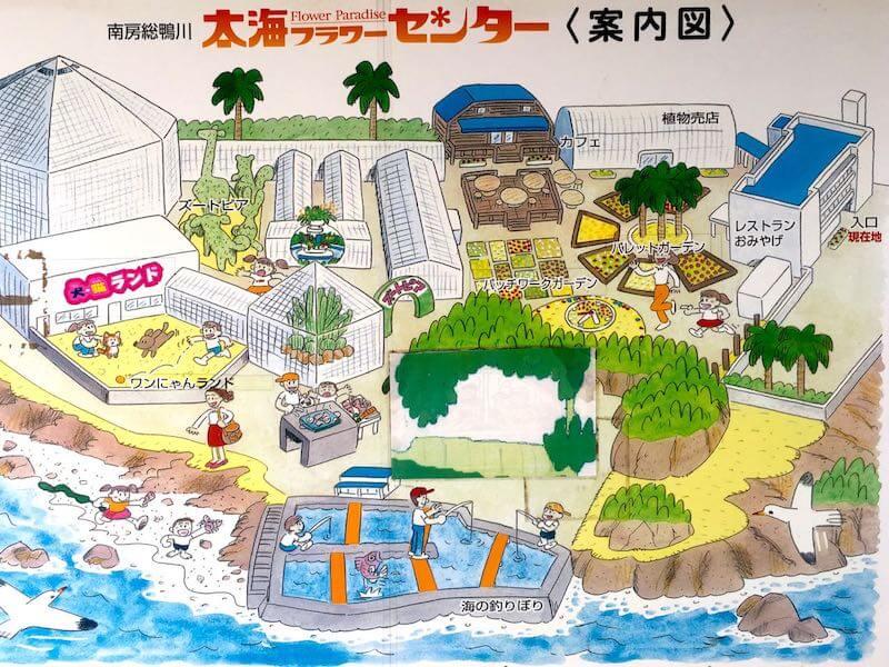 太海フラワー磯釣りセンター地図
