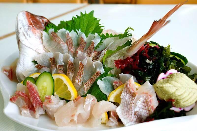 釣った真鯛を料理3