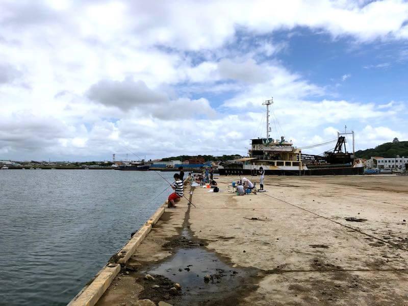 館山港の釣り場12