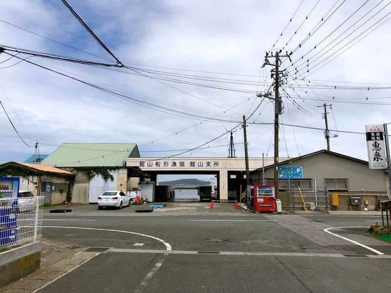 館山港の釣り場01