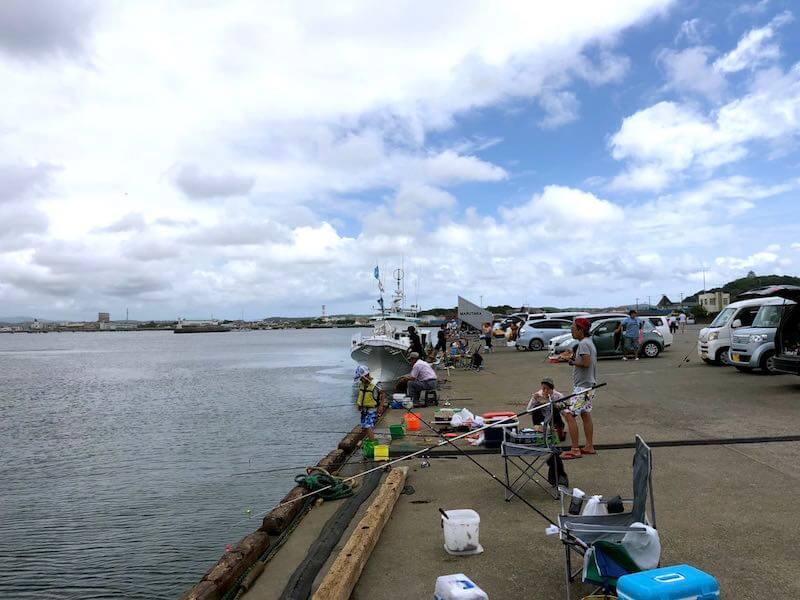館山港の釣り場08