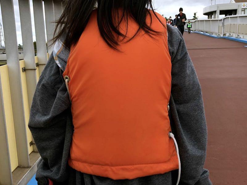 市原海釣り公園子供用ライフジャケット2